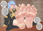 Marianne's Dirty Feet (Commission Variant)