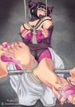 [CM] Juri Bound and Foot Worshipped