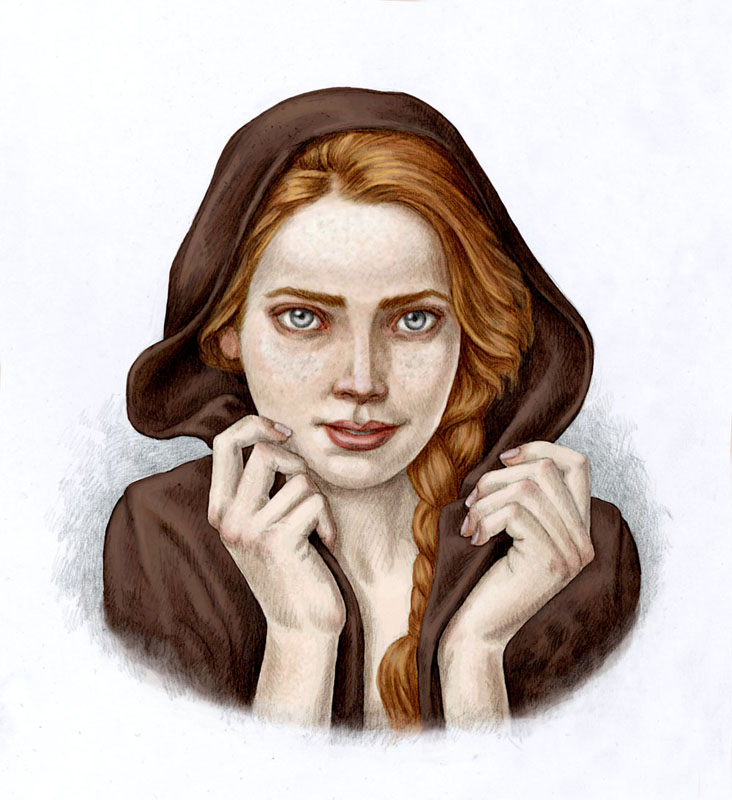 Ilviran priestess by Bergholtz