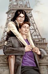 Honeymoon in Paris by Bergholtz