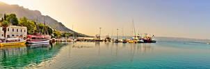 Omis Croatia - Panorama