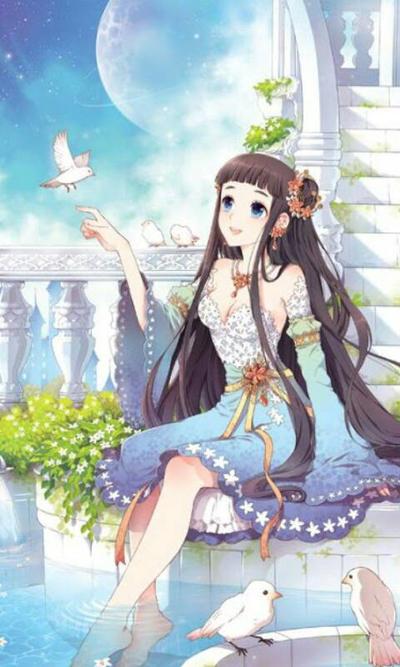 картинки принцесса аниме