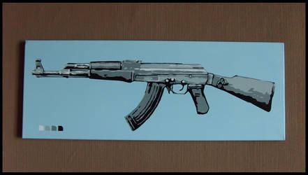 Kalashnikov by bboonn