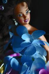 Flower doll by Niquita