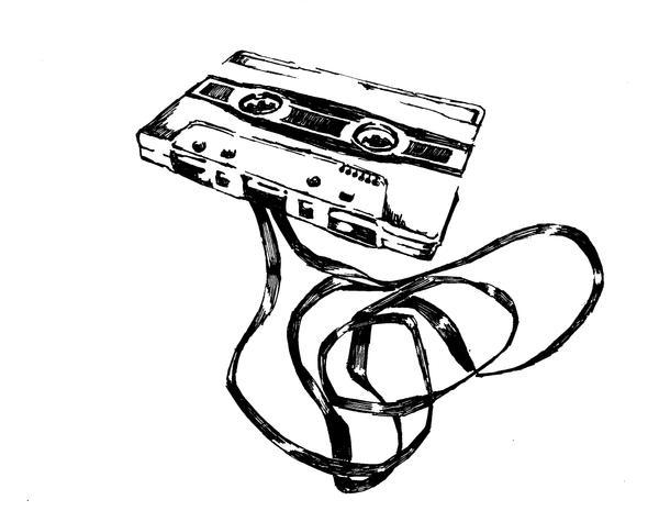 old skool cassette by EDIllo