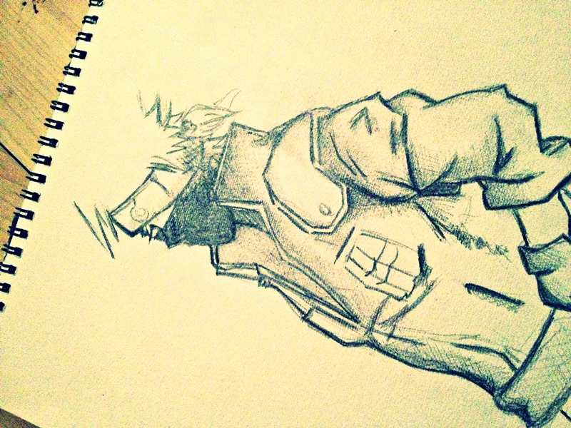 Copy Ninja Kakashi by hate92