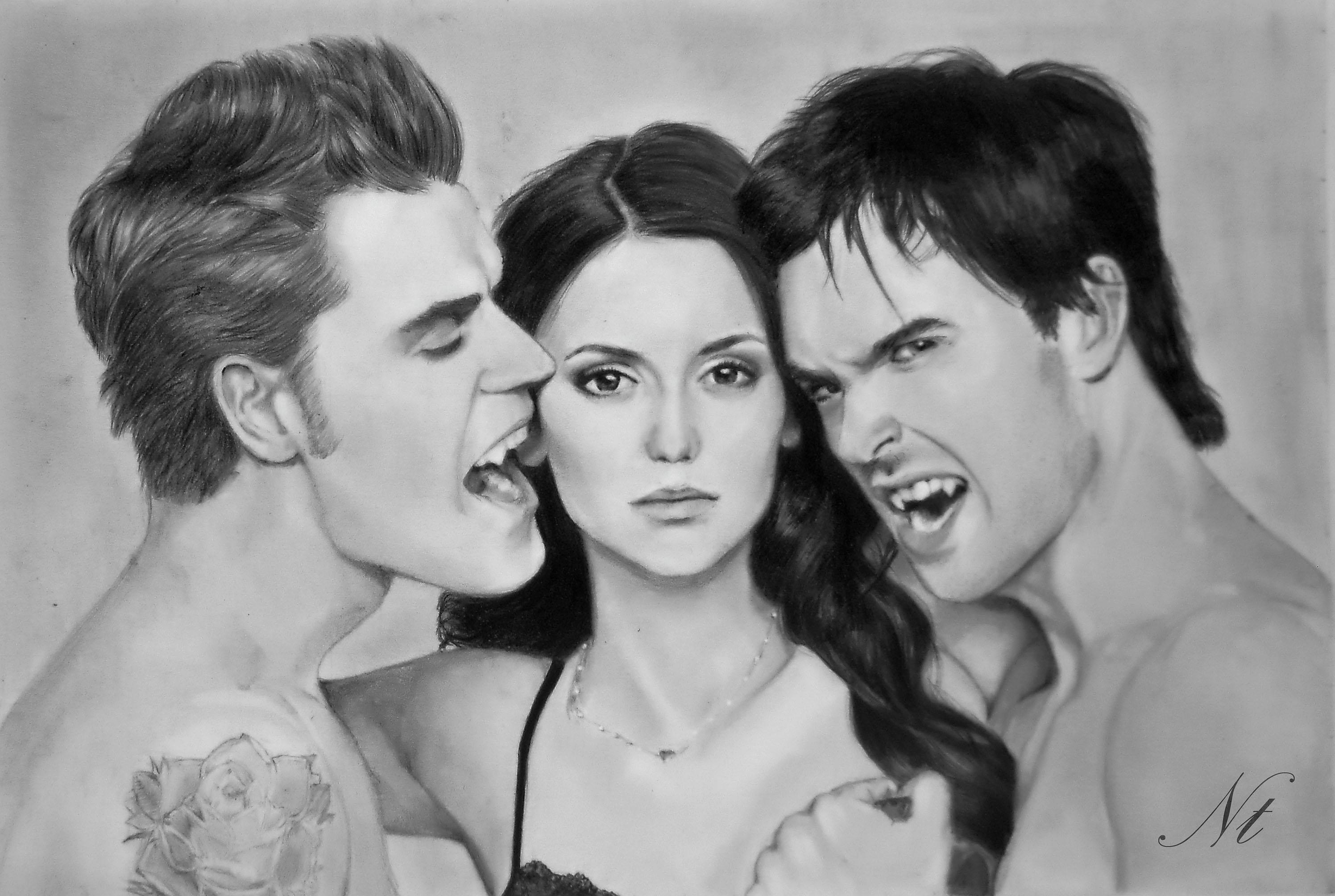 The Vampire Diaries By Natlina On DeviantArt
