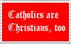 Catholic-Chrisitan Stamp by chessgirl