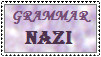 Grammar Nazi Stamp by chessgirl
