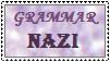 Grammar Nazi Stamp by chessgirl