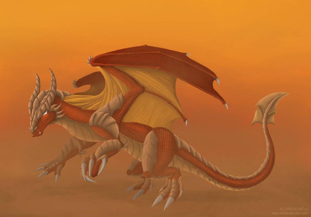 Dragon of the desert