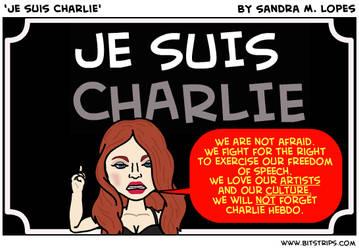 Je suis Charlie by SandraLopes
