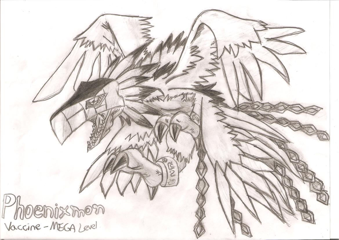 ... fan comics 2009 2014 digiomnimon this is the digimon s phoenixmon este