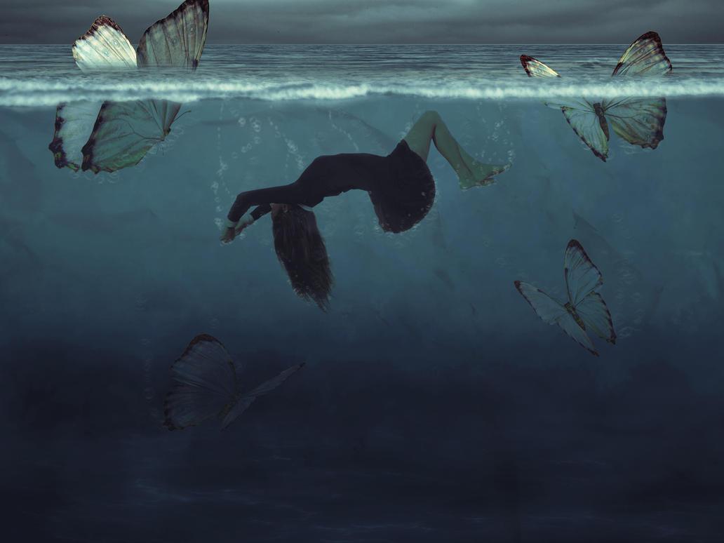 Bajo la marea by Kathechareun