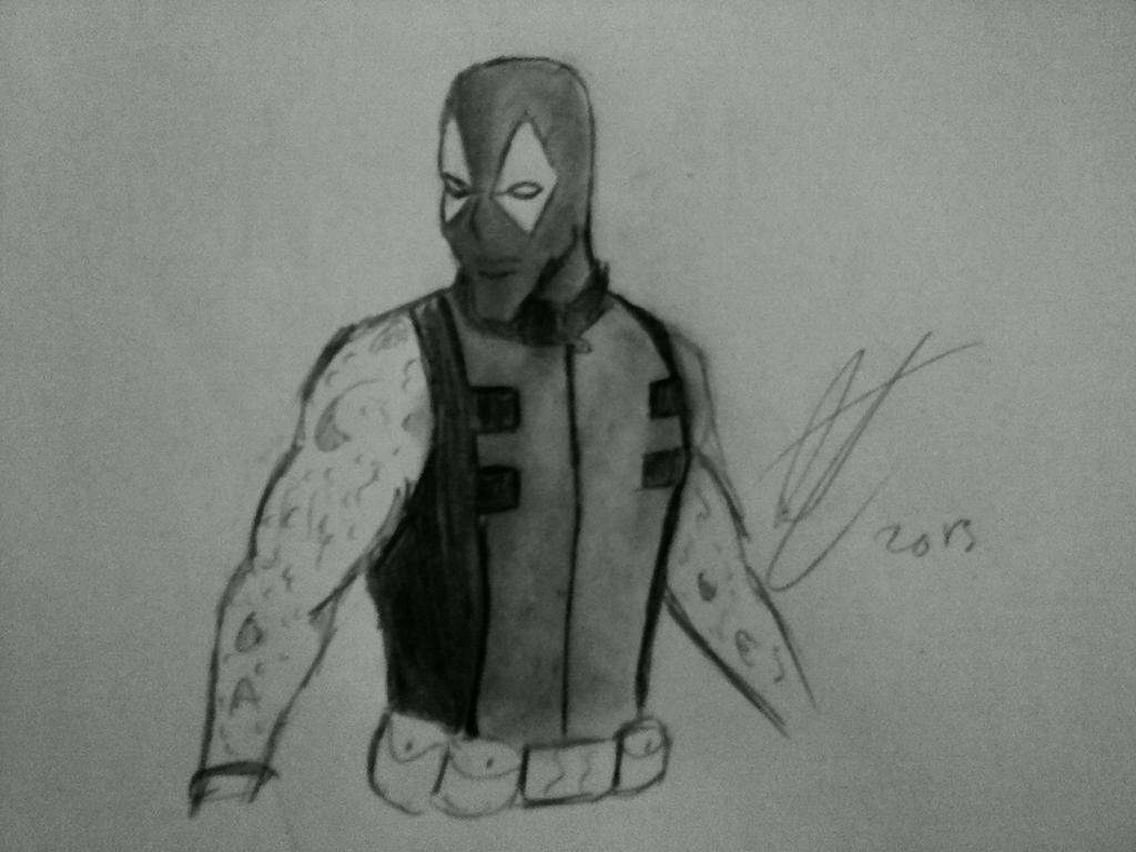 X-Men Origins: Wolverine-Deadpool re-design by Deadfish ... X Men Deadpool Drawings