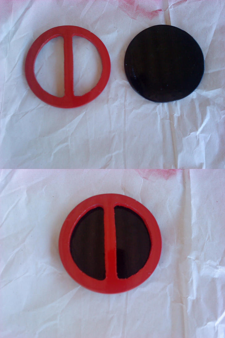 New Deadpool belt buckle in progress by Deadfish-Comics
