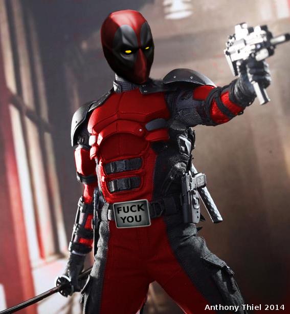 Deadpool Movie Poster 2014 My deadpool movie suit concept