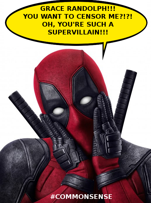 deadpool common sense meme - photo #12