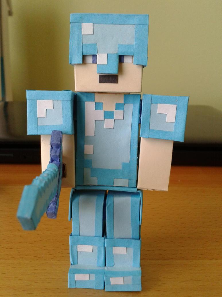 Diamond Armor By BuildMyPaperHeart ...