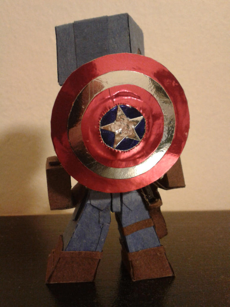 The First Avenger by BuildMyPaperHeart