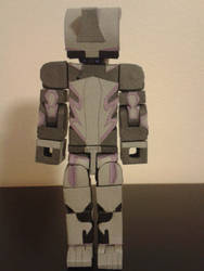 Excal Front by BuildMyPaperHeart
