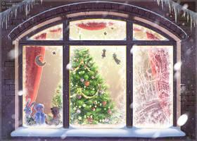 Frosty window by VaLerka-Ru