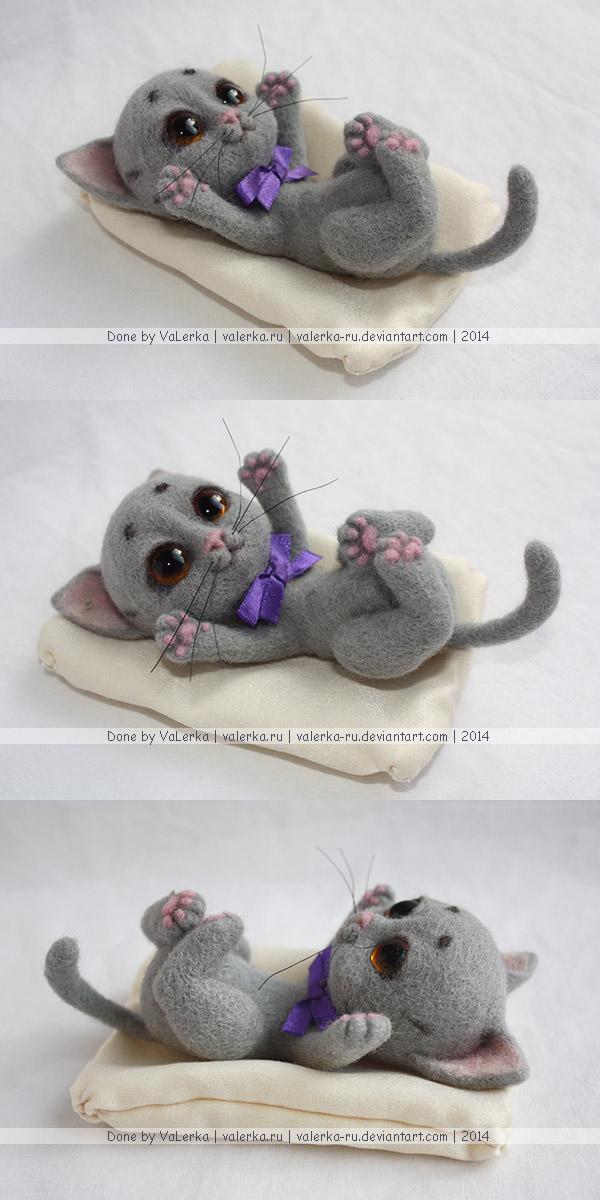 Happy cat by VaLerka-Ru