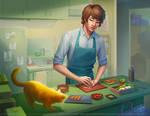 Making bento