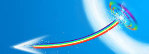 Sonic Rainboom Wallpaper