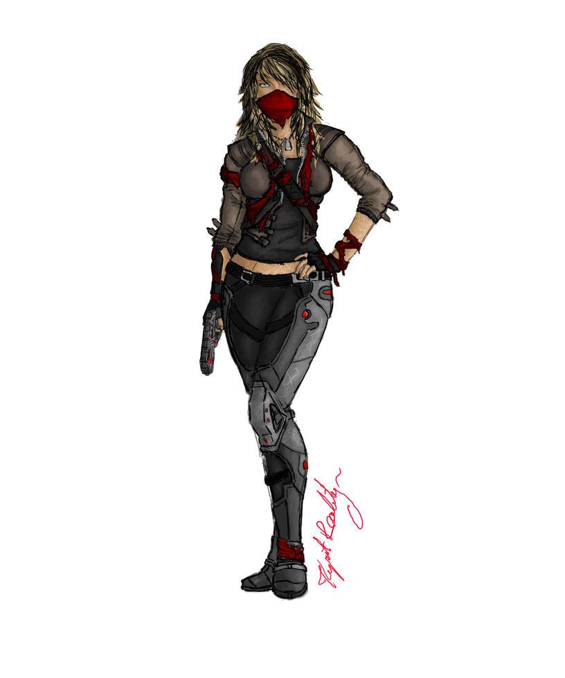 Mass Effect OC - Aeron Nox by KyrstReality