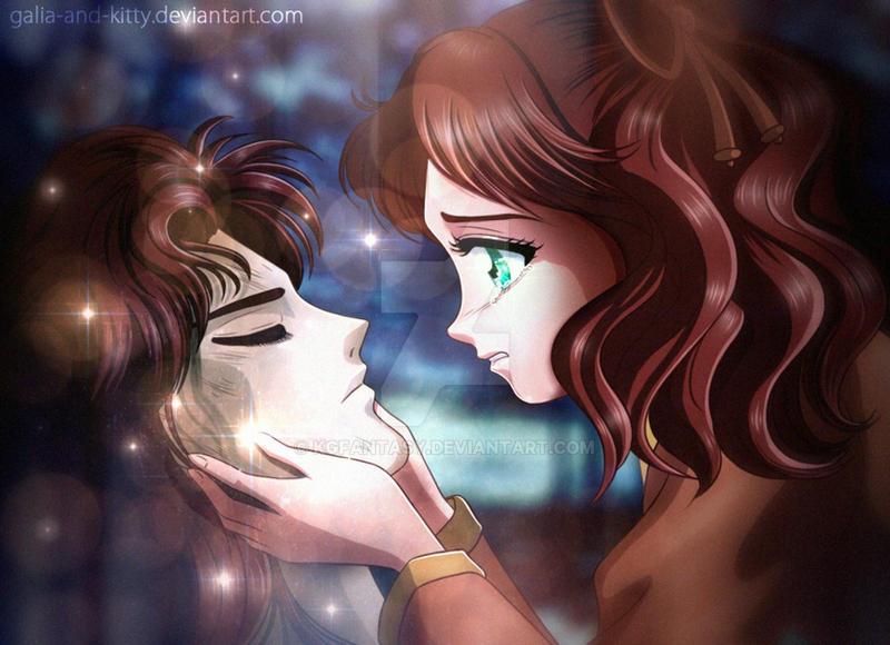 BSSM fanart: Naru's Tears, Nephrite Dies for Love
