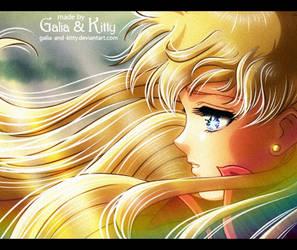 Redraw: Minako's sadness by kgfantasy