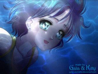 Redraw: Ami-chan Underwater by kgfantasy