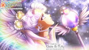 PATREON FAN ART: Sailor Cosmos by kgfantasy