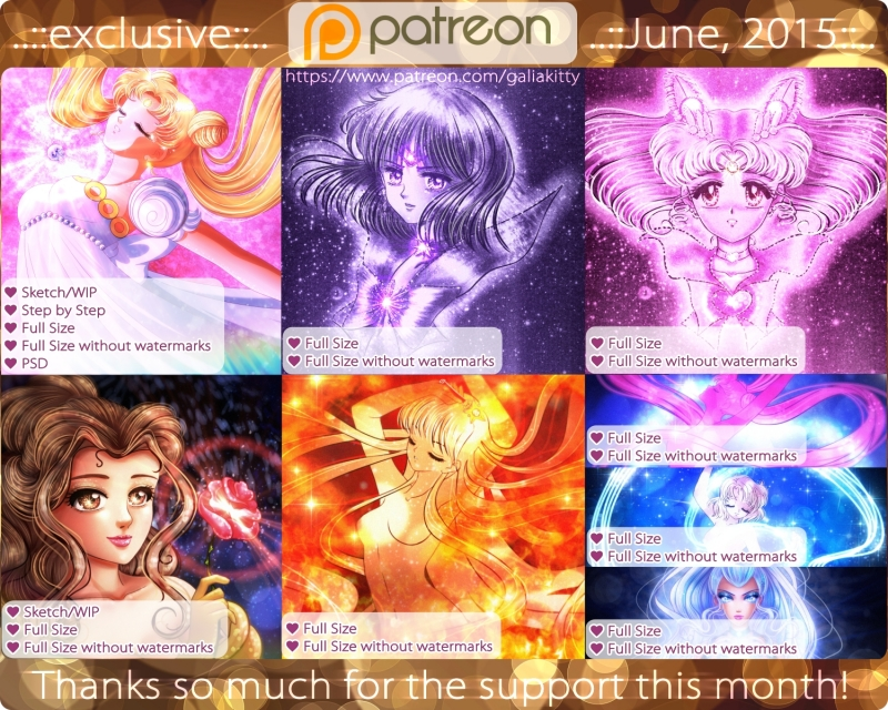 Patreon: June, 2015 by galia-and-kitty