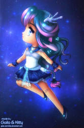 Kiriban Prize: Mythic Sailor Moonstone Kirin by kgfantasy