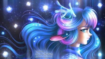Commission: Sailor Moonstone Kirin