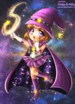 Chibi Commission: Sailor Magic (Happy Halloween!) by kgfantasy
