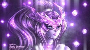 Commission: Sailor Amethyst Dragon by kgfantasy