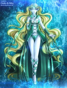 Commission: Eternal Sailor Amathiea