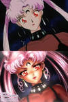 Redraw: Black Lady (Sailor Moon R)