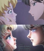 Redraw: Don't cry, Usako by kgfantasy