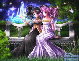 Commission: Nehelenia and Sakura