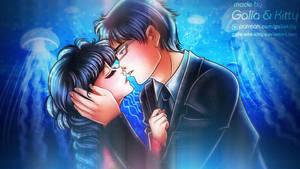 Request: Tsukimi and Shu