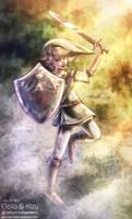 Link (The Legend of Zelda) by kgfantasy
