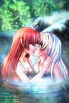Unexpected Kiss (Rain/Seven SAO) 18+ NSFW bonus