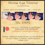 [HOW TO DRAW] Anime Eye Tutorial