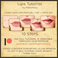 [HOW TO DRAW] Lips Tutorial