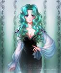 Happy Birthday, Michiru Kaioh! (Sailor Neptune) by kgfantasy