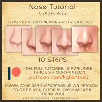 [HOW TO DRAW] Nose Tutorial